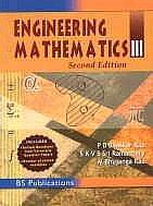 Engineering Mathematics : III: S K V