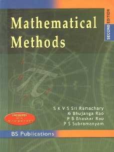 Mathematical Methods: S K V