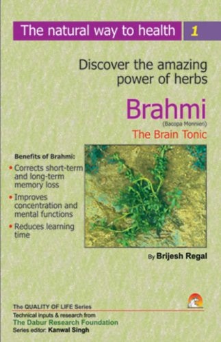 9788178060415: Brahmi, the Brain Tonic