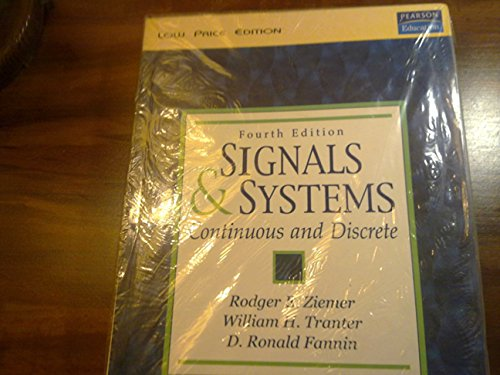 9788178082967: Signals & Systems: Continuous & Discrete, 4Th Edit