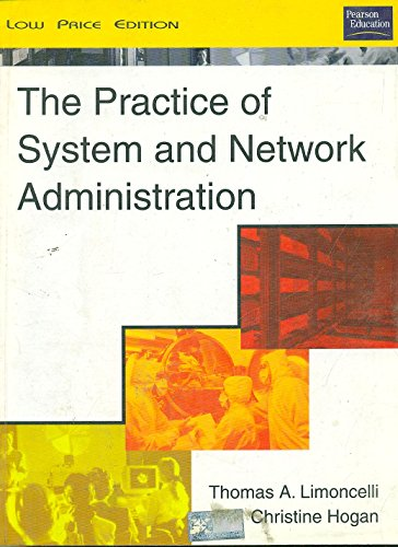 9788178089034: The Practice of System and Network Administration