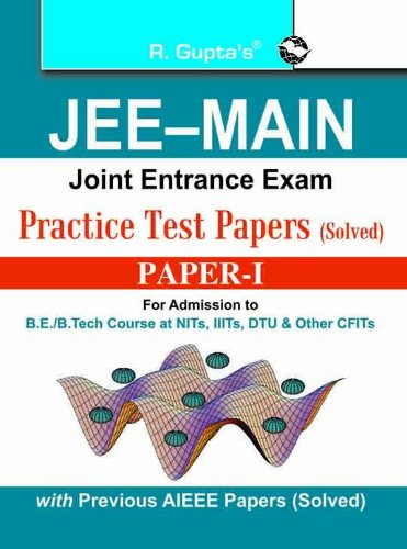 JEE Main (Joint Entrance Exam) Practice Test: RPH Editorial Board