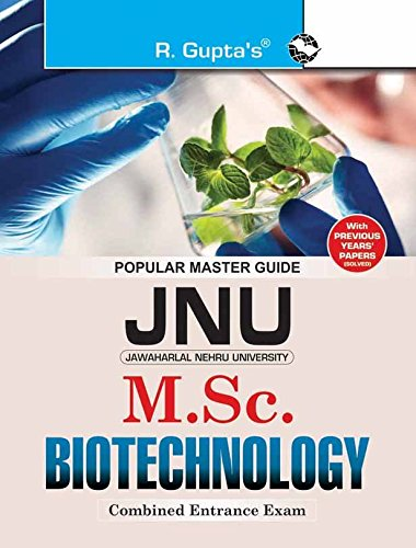 JNU Combined M.Sc. Biotechnology Entrance Examination Guide: RPH Editorial Board
