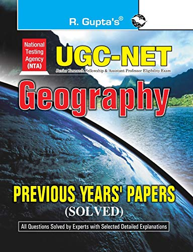 CBSE-UGC-NET : Geography Previous Papers (Solved): RPH Editorial Board