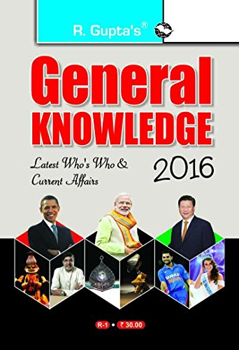 General Knowledge Current Affairs & Who's Who: RPH Editorial Board