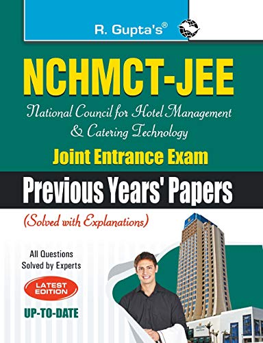 9788178124490: NCHMCT-JEE: National Council for Hotel Management and Catering Technology Joint Entrance Exam (Previous Years Papers)