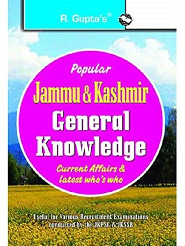 Jammu & Kashmir General Knowledge: Current Affairs: RPH Editorial Board