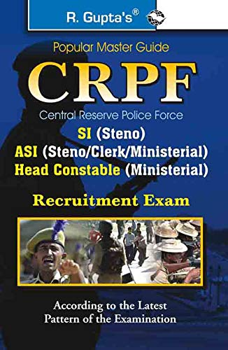 Central Reserve Police Force (CRPF) ASI/SI/HC (Steno/Clerk/Min.) Recruitment ...