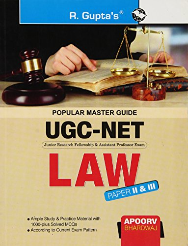 9788178128511: Cbse - Ugc - Net: Law (Paper Ii And Iii) Guide (Popular Master Guide)