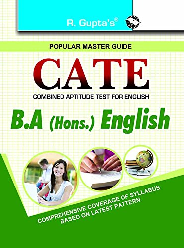 DU: CATE (Combined Aptitude Test for English) B.A. (Honours) English Entrance Guide: RPH Editorial ...