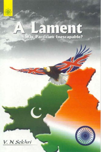 A Lament was Partition Inescapable?
