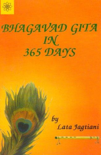 9788178222561: Bhagavad Gita in 365 Days (Buddhist Tradition S.)