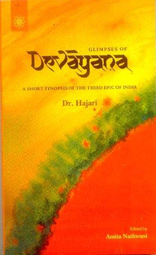 Glimpses of Devayana: Hajari, Amita Nathwani (Editor)
