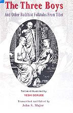 9788178223513: Three Boys and Other Buddhist Folktales From Tibet