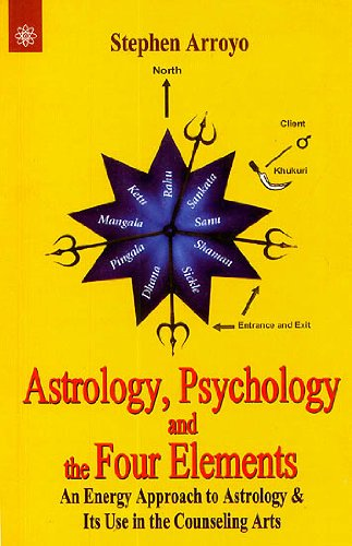 9788178223872: Astrology, Psychology and the Four Elements