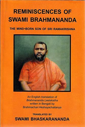 9788178234229: Reminiscences of Swami Brahmananda: The Mind-Born Son of Sri Ramakrishna