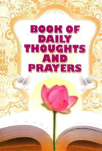 9788178236643: Book of Daily Thoughts and Prayers