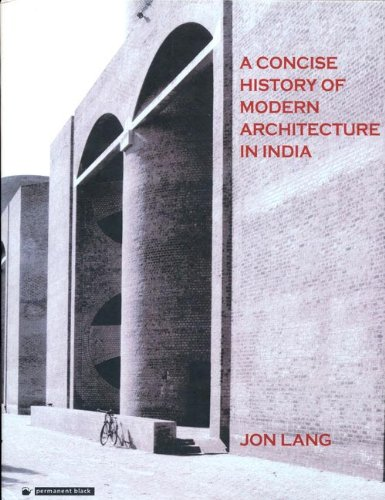 9788178240176: A Concise History of Modern Architecture in India