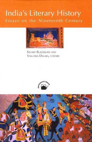 Indias Literary History : Essays on the: Stuart Blackburn and