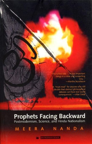 9788178241531: Prophets Facing Backward: Postmodernism, Science, and Hindu Nationalism
