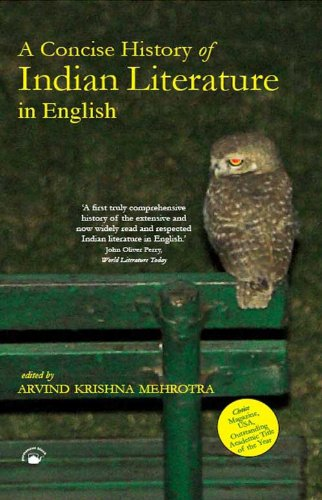9788178242408: A Concise History of Indian Literature in English