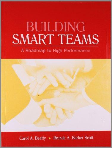 Building Smart Teams: A Roadmap to High Performance: Brenda A. Barker Scott,Carol A. Beatty