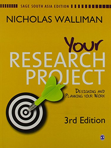 9788178295404: Your Research Project: A Step-by-Step Guide for the First-Time Researcher (Sage Study Skills Series)
