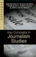 9788178296357: Key Concepts in Journalism Studies