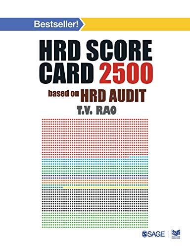 HRD Score Card 2500: Based on HRD Audit: T.V. Rao