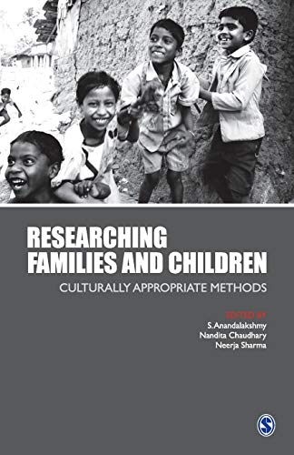 9788178298726: Researching Families and Children: Culturally Appropriate Methods