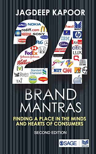9788178299433: Twenty Four Brand Mantras: Finding a Place in the Minds and Hearts of Consumers