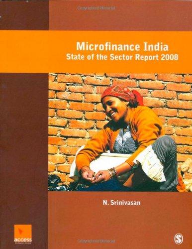 Microfinance India: A State of the Sector: N. Srinivasan
