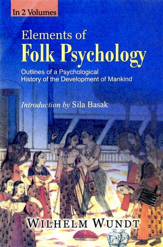 9788178356068: Elements of Folk Psychology Outlines of Psychological History of Development of mankind