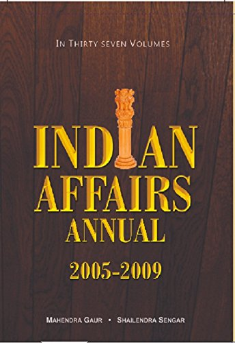 Indian Affairs Annual 2008 (Chronology of Events{29-10-2007 To 30-11-2007}), Vol. 6Th: Mahendra ...