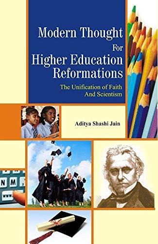 Modern thought For Higher Education: Aditya Shashi Jain