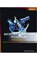 9788178531144: MICROSOFT SOLUTIONS FRAMEWORK ESSENTIALS