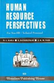HUMAN RESOURCE PERSPECTIVES: Kaila, S. Ravishankar