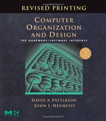 9788178671185: Computer Organization and Design: The Hardware/Software Interface (Indian Reprint Edition)