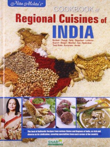 Cookbook Regional Cuisines of India: Mehta, Nita