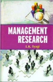 Management Research: L.K. Tyagi