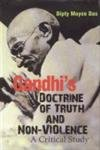 9788178885216: Gandhi`s Doctrine of Truth and Non-Violence: A Critical Study
