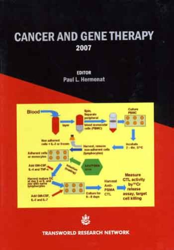 9788178952529: Cancer and Gene Therapy 2007