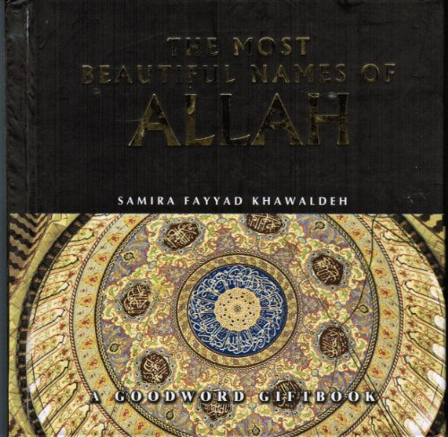 9788178980058: The Most Beautficul Names of Allah