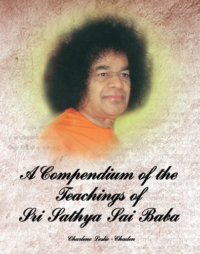 9788178990422: A Compendium of the Teachings of Sathya Sai Baba