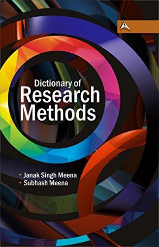 Dictionary of Research Methods: Janak SIngh Meena,