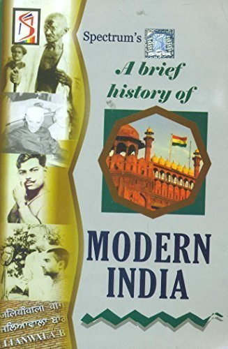 9788179305621: A Brief History Of Modern India