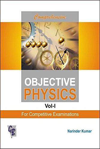 9788179680544: Comprehensive Objective Physics: v. 1