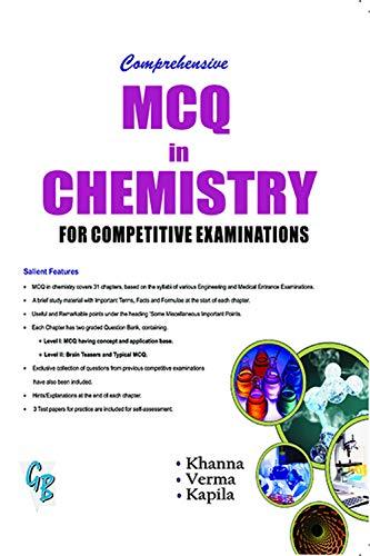 Comprehensive MCQs in Chemistry: Prof. S. K.