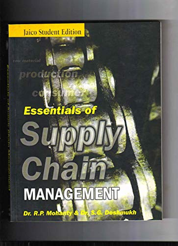 Essentials of Supply Chain Management: Dr. R.P. Mohanty