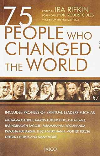 75 People Who Changed the World: Ira Rifkin (Ed.)